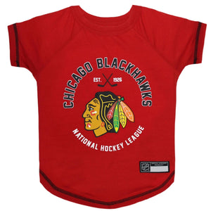 Chicago Blackhawks Pet T-Shirt