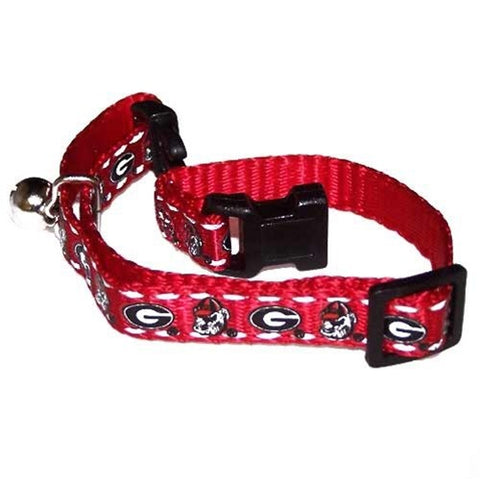 Georgia Bulldogs Cat Safety Collar