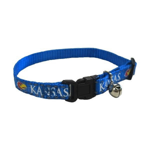 Kansas Jayhawks Cat Safety Collar
