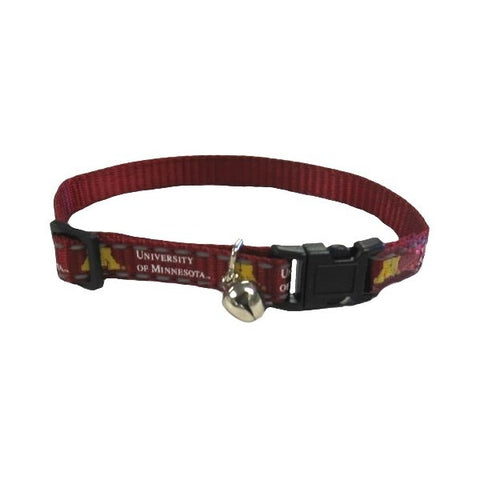 Minnesota Golden Gophers Cat Safety Collar