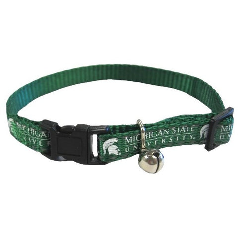 Michigan State Spartans Cat Safety Collar