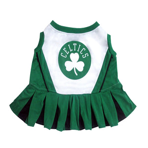 Boston Celtics Cheerleader Dog Dress