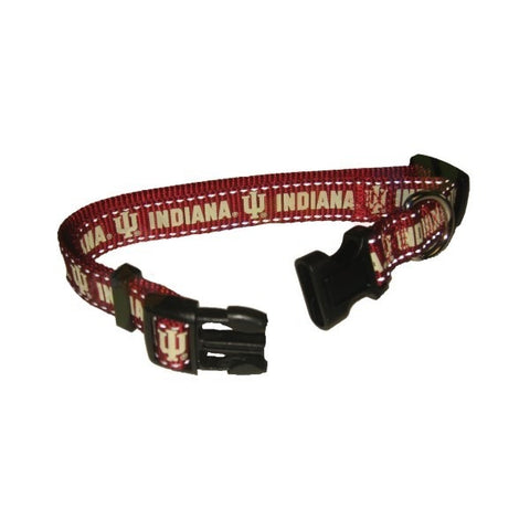 Indiana Hoosiers Pet Reflective Nylon Collar