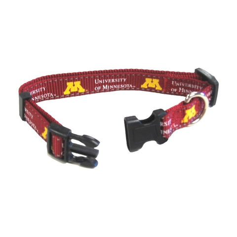 Minnesota Golden Gophers Pet Reflective Nylon Collar