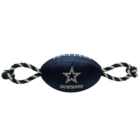 Dallas Cowboys Pet Nylon Football