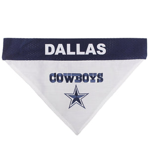 Dallas Cowboys Pet Reversible Bandana