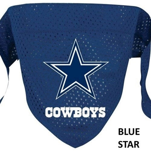Dallas Cowboys Mesh Pet Bandana