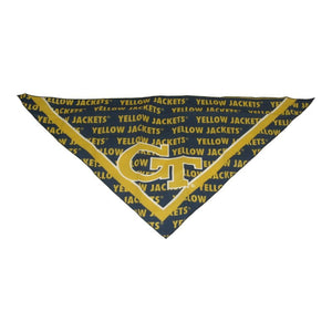 Georgia Tech Triangle Bandana