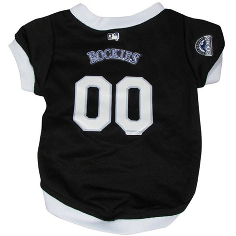 Colorado Rockies Dog Jersey