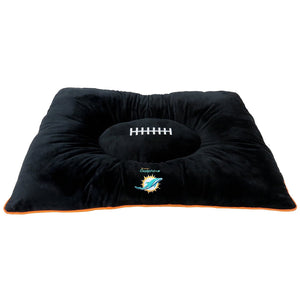 Miami Dolphins Pet Pillow Bed