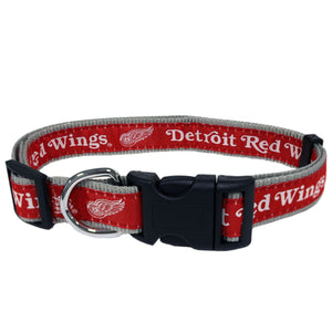 Detroit Red Wings Pet Collar by Pets First