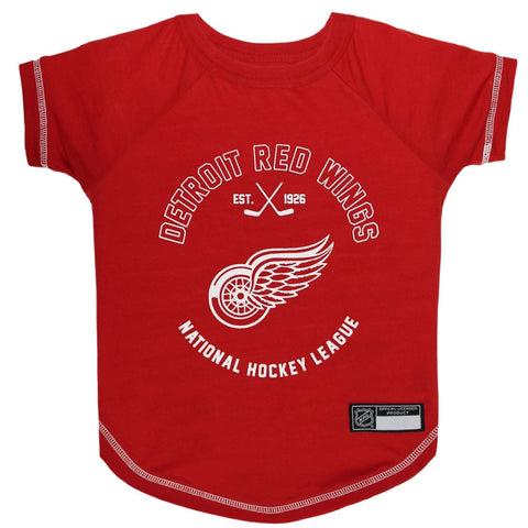 Detroit Red Wings Pet T-Shirt