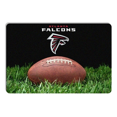 Atlanta Falcons Classic Football Pet Bowl Mat