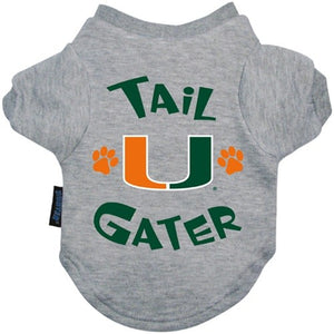 Miami Hurricanes Tail Gater Tee Shirt