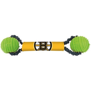 Boston Bruins Double Bungee Tug-N-Toss Toy