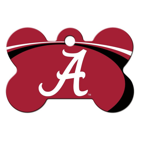 Alabama Crimson Tide Bone ID Tag