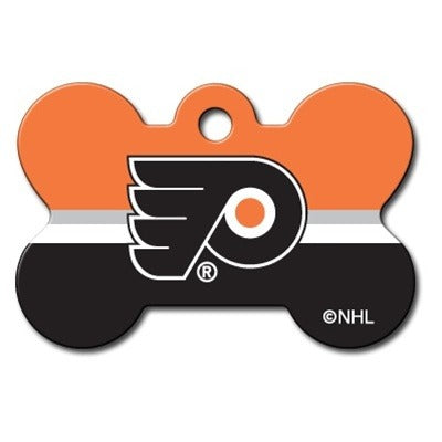 Philadelphia Flyers Bone ID Tag