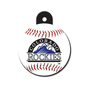 Colorado Rockies Circle ID Tag