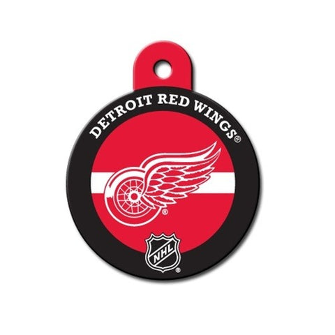 Detroit Red Wings Circle ID Tag