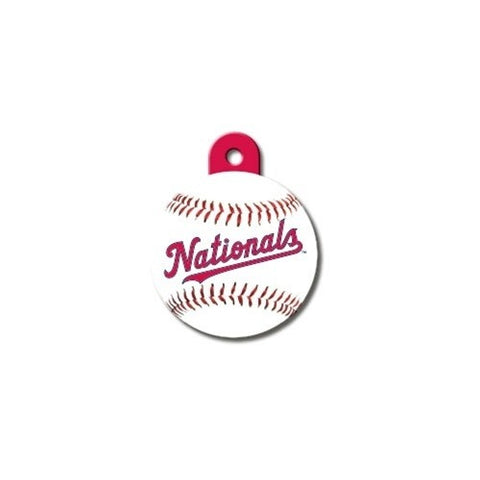 Washington Nationals Circle ID Tag