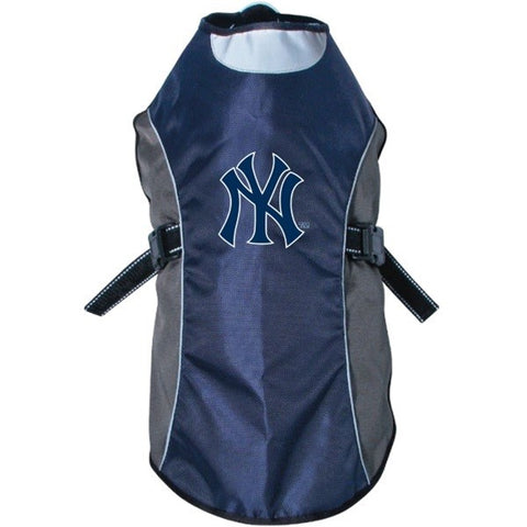 New York Yankees Water Resistant Reflective Pet Jacket