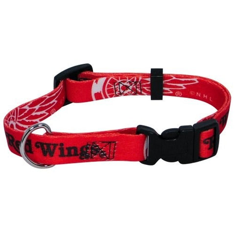 Detroit Red Wings Dog Collar