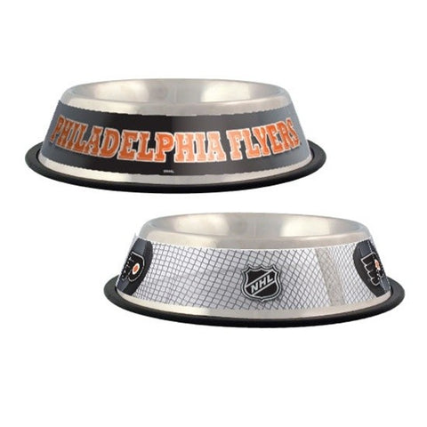 Philadelphia Flyers Dog Bowl