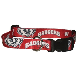 Wisconsin Badgers Pet Collar