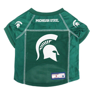 Michigan State Spartans Pet Mesh Jersey