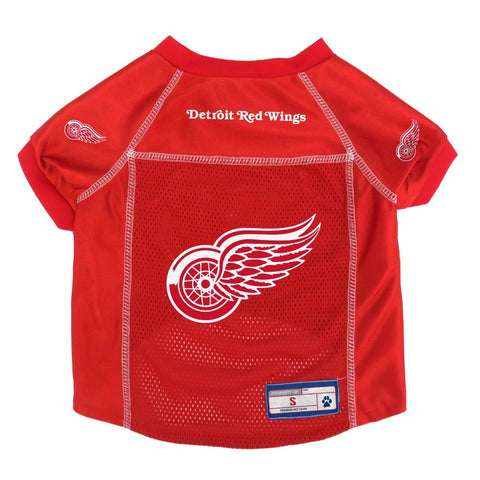 Detroit Red Wings Pet Mesh Jersey