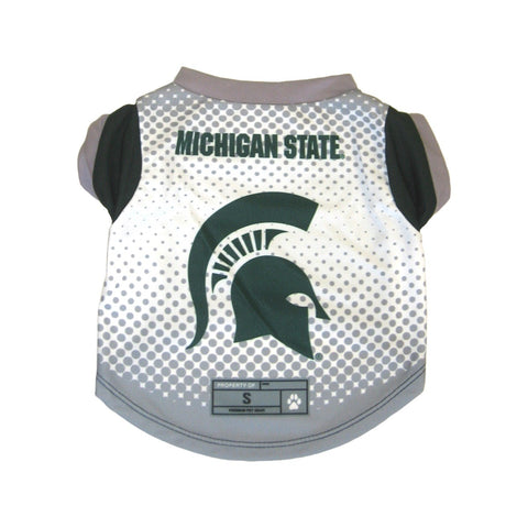 Michigan State Spartans Pet Performance Tee