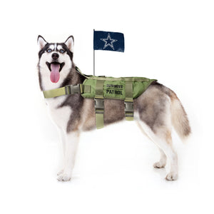 Dallas Cowboys Pet Tactical Vest