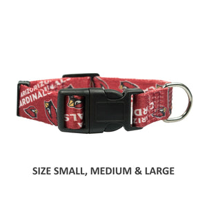 Arizona Cardinals Pet Nylon Collar