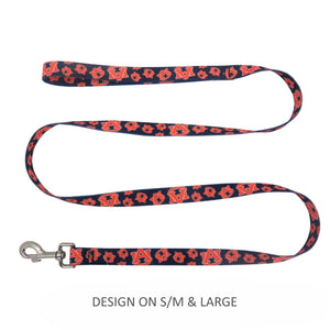 Auburn Tigers Pet Nylon Leash