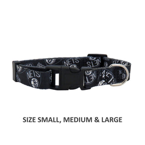 Brooklyn Nets Pet Nylon Collar