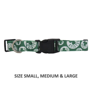 Boston Celtics Pet Nylon Collar