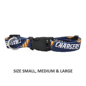Los Angeles Chargers Pet Nylon Collar