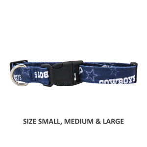 Dallas Cowboys Pet Nylon Collar