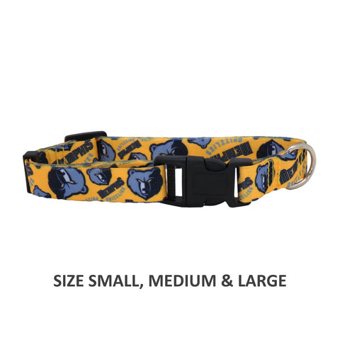 Memphis Grizzlies Pet Nylon Collar