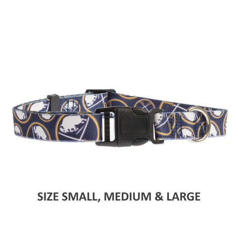 Buffalo Sabres Pet Nylon Collar
