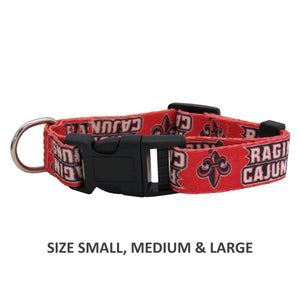 Louisiana Ragin' Cajuns Pet Nylon Collar