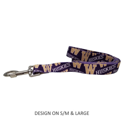 Washington Huskies Pet Nylon Leash