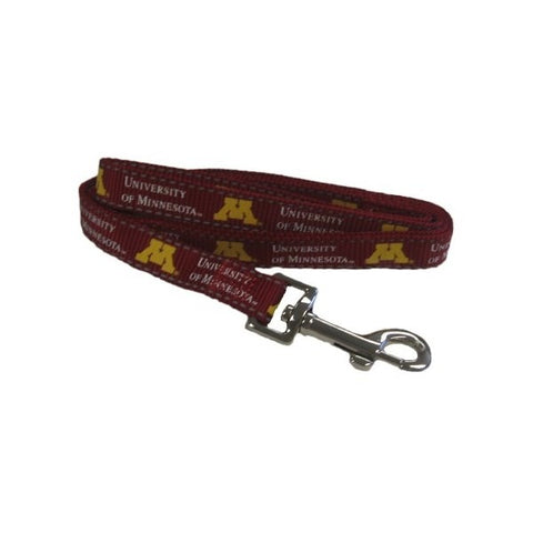Minnesota Golden Gophers Pet Reflective Nylon Leash