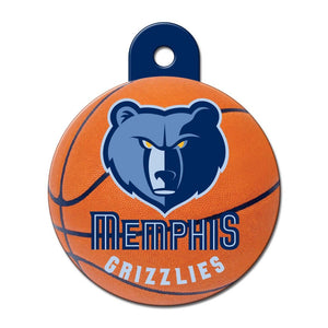 Memphis Grizzlies Circle ID Tag