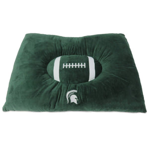 Michigan State Spartans Pet Pillow Bed