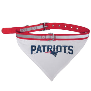 New England Patriots Pet Collar Bandana