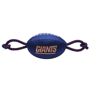 New York Giants Pet Nylon Football
