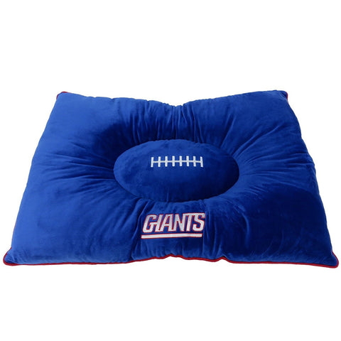 New York Giants Pet Pillow Bed