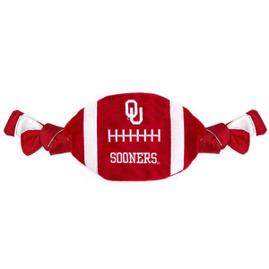 Oklahoma Sooners Flattie Crinkle Football