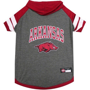 Arkansas Razorbacks Pet Hoodie T-Shirt